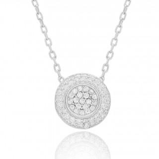 Necklace - Trendy diamonds Winter 2021