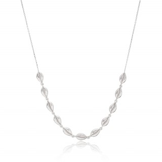 Silver Necklace - Summer shells 2021-2022