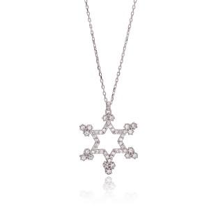 Kalung Perak dengan bintang...