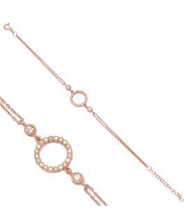 Bracelet avec anneaux et...