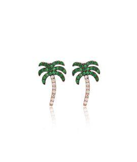 Pierced ears palms
