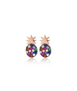 Earrings pineapple...