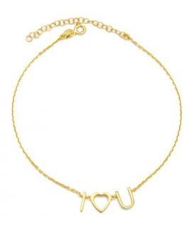 Bracelet de cheville argent Trèfle 4 feuilles