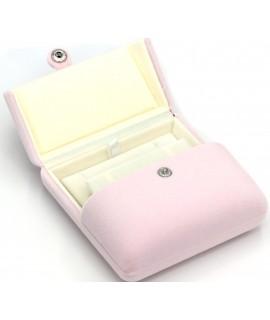 Boîte coffret rose à bijoux