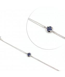 Bracelet with sapphire...